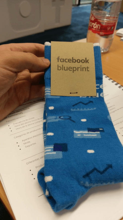 Calcetines Facebook Blueprint Live